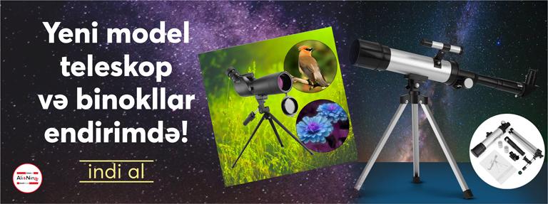 Teleskop və binokl