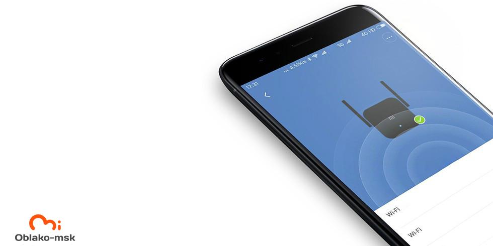 Wi-Fi усилитель сигнала (репитер) Xiaomi Mi Wi-Fi Amplifier PRO