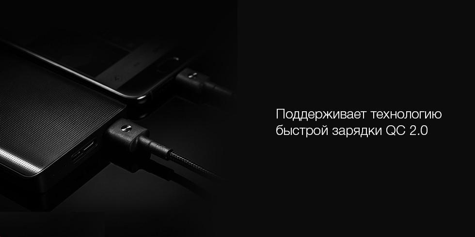 Power Bank ZMI QB810 (10000mAh, черный)