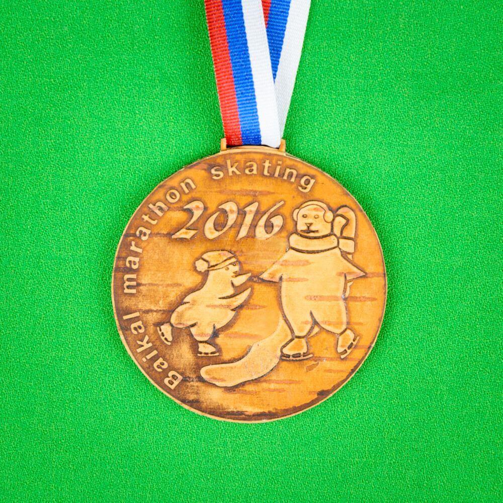 Медали из бересты