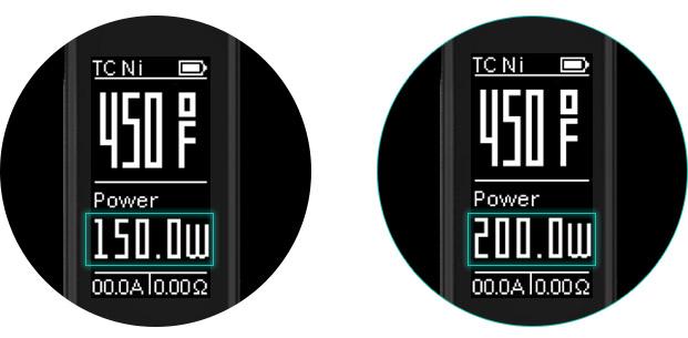 Боксмод WISMEC Reuleaux RX2/3: С двумя батарейками, максимальная выходная мощность составляет 150W, выходная мощность достигает 200W с трёмя батарейками. А максимальное выходное напряжение 6V и 9V соответственно.