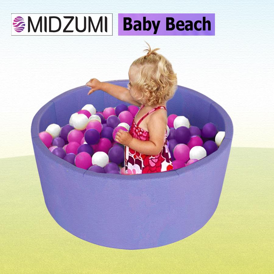 Детский сухой бассейн Midzumi Baby Beach