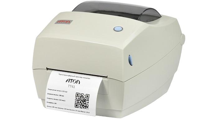 Обычный принтер штрих-кодов