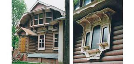 Окно заднего фасада