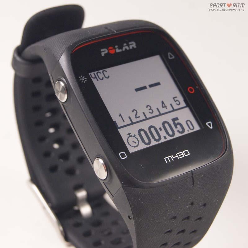 Экран часов Polar M430