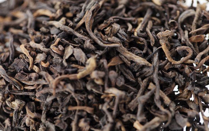 серебряные брови красный чай
