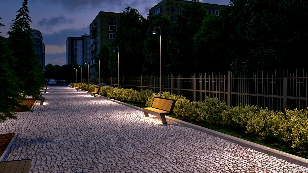 comfortable urban environment