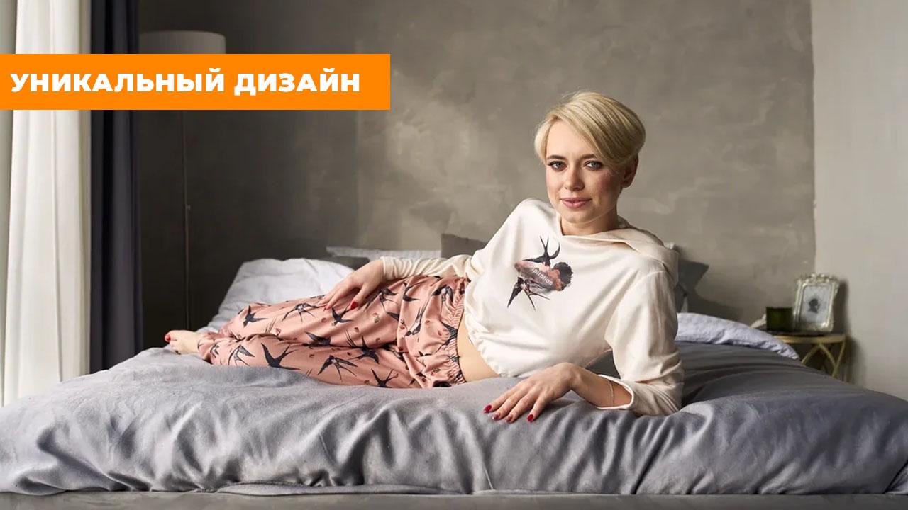 """Флисовая пижама """"Ласточки"""""""