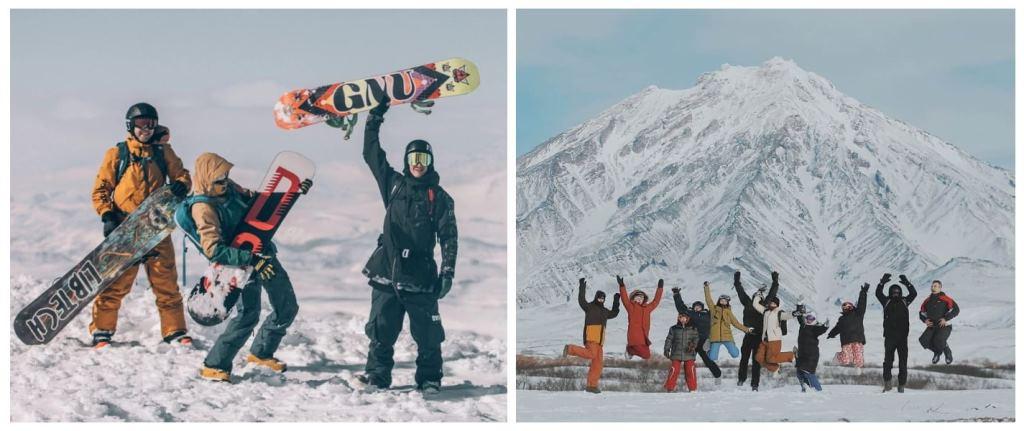 Серфинг и сноуборд на Камчатке