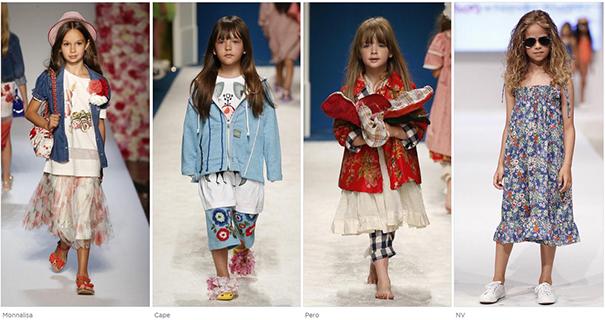 модная детская одежда 2018