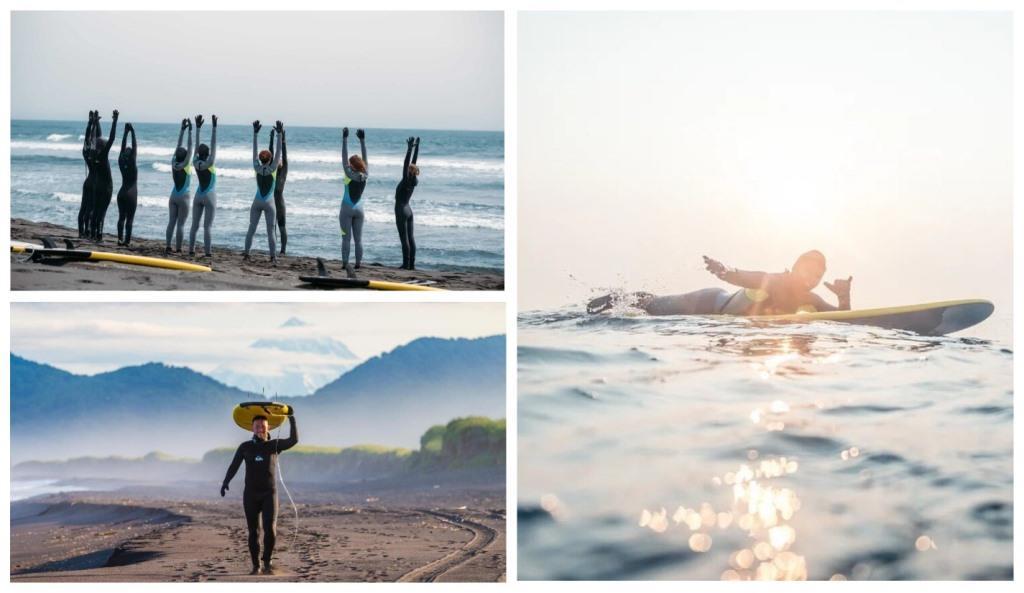 Серфинг и отдых на Камчатке