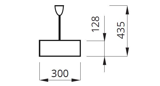 Размеры кронштейна для крепления потолочных светильников