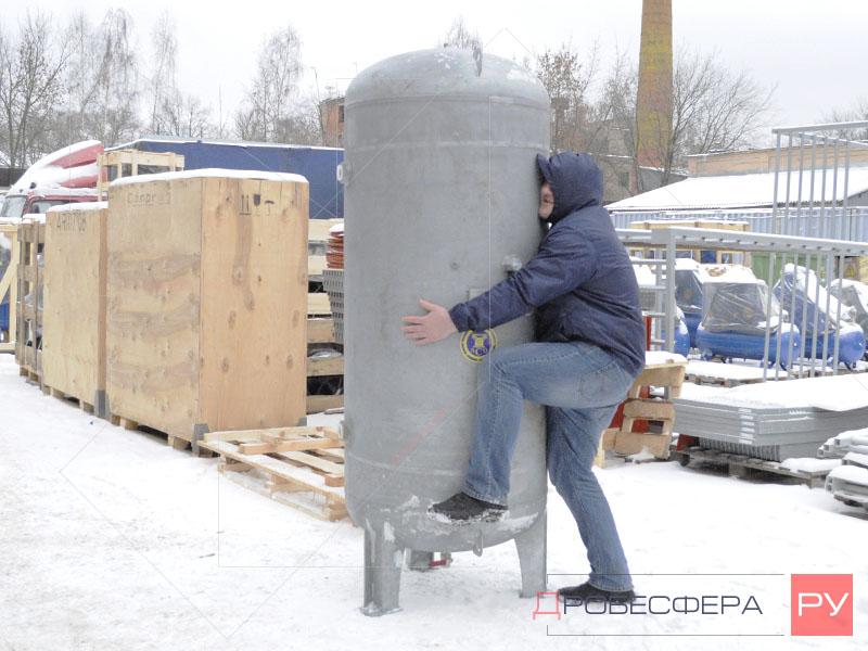 Ресивер для компрессора на 900 литров оцинкованный