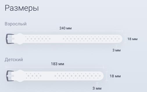 Браслет с чипом NFC BePay для бесконтактной оплаты