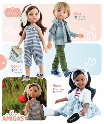 новые куклы на шарнирах паола рейна 2021