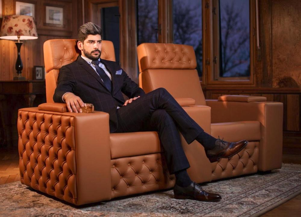 Кресла для домашнего кинотеатра Moovie Chesterfield