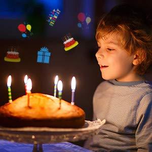 проектор для дня рождения Слайд шоу из картинок 24 шт