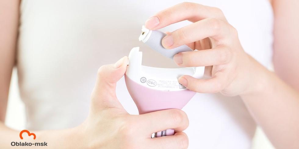 Электрическая роликовая пилка для пяток Xiaomi Callus Remover