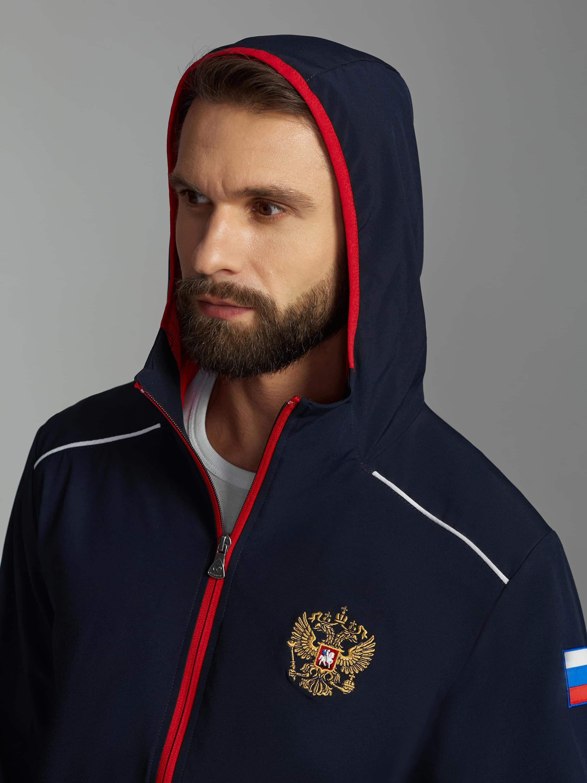 Спортивный костюм Россия 15M-RR-1375 плащёвка