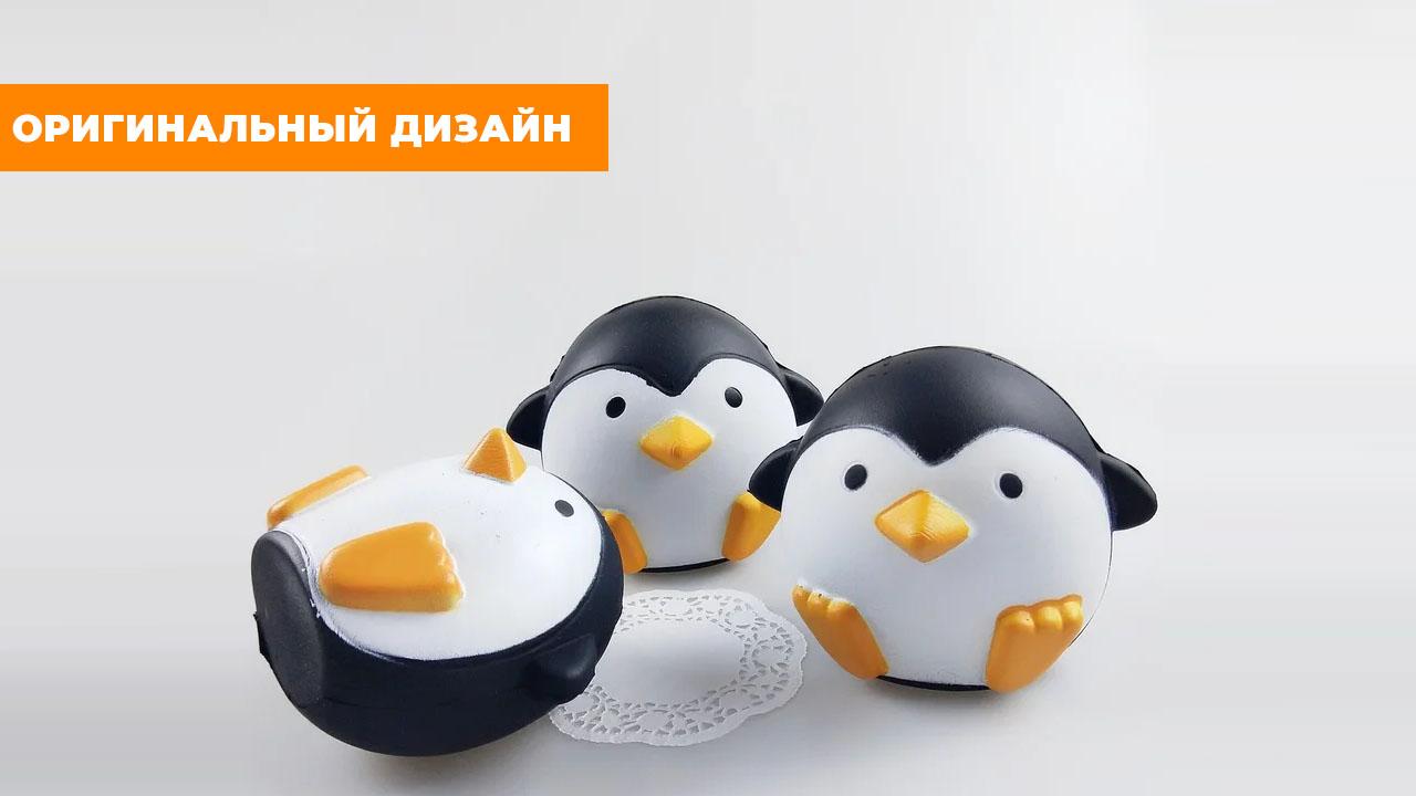 "Сквиш ""Пингвин"" (9 см)"