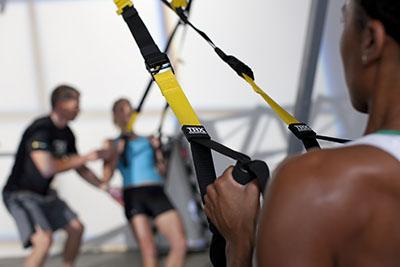 Фото упражнение с петлями trx