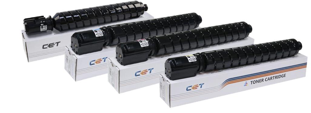 Новая фасовка: тонер с носителем для картриджа C-EXV49