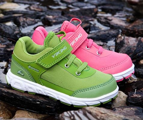 Купить детскую обувь Viking кроссовки