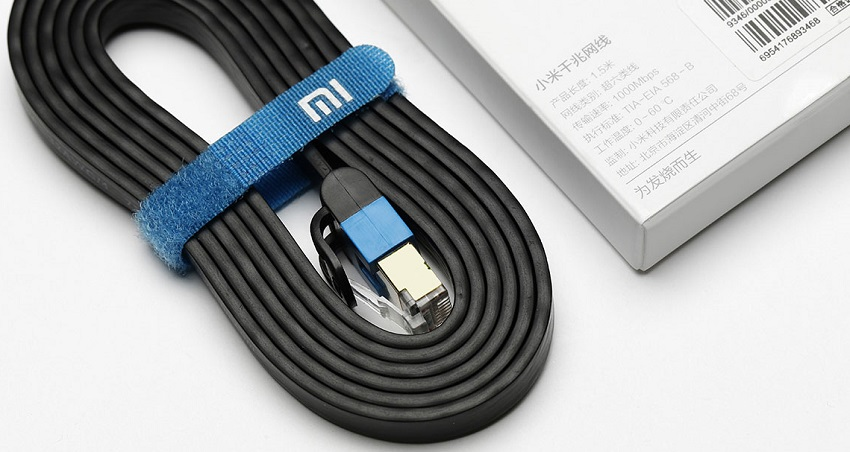 Сетевой кабель Xiaomi Mi Gigabit 3 метра