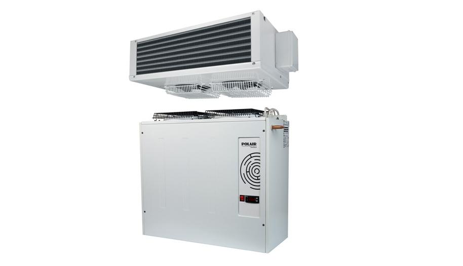 Холодильные машины POLAIR с воздухоохладителями из нержавеющей стали