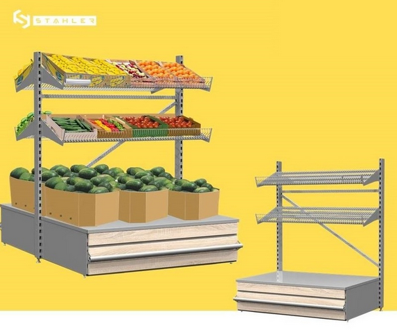 Функциональный фруктово-овощной модуль