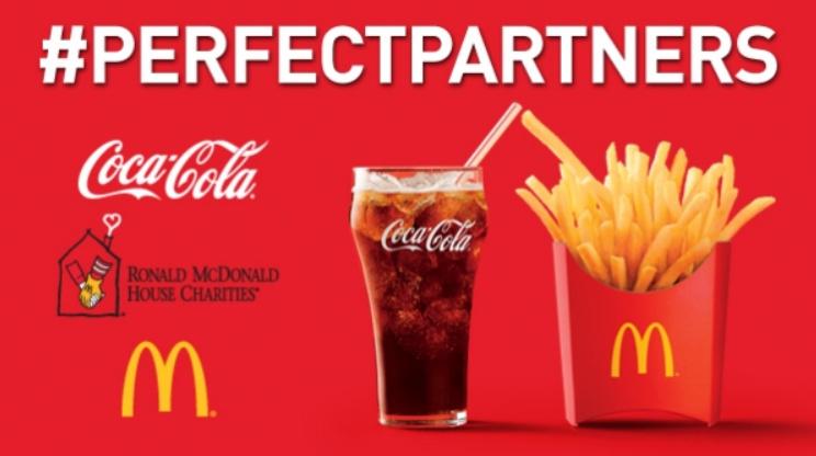 Coca-Cola и McDonalds - перекрестный маркетинг