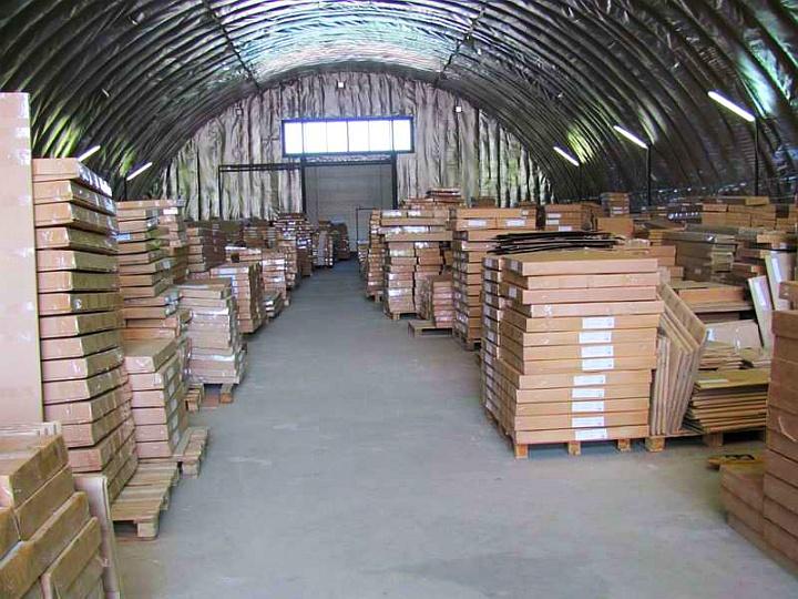 Автоматизация мебельного склада особенно эффективна при складировании штабелями