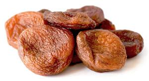 Сушеные абрикосы: курага