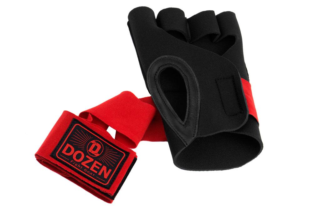 Быстрые бинты Dozen Prime Черно-красный вентиляция