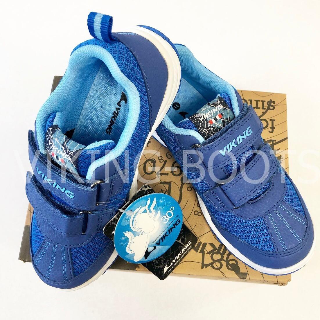 Детские кроссовки Viking Bryne Dark Blue для мальчиков
