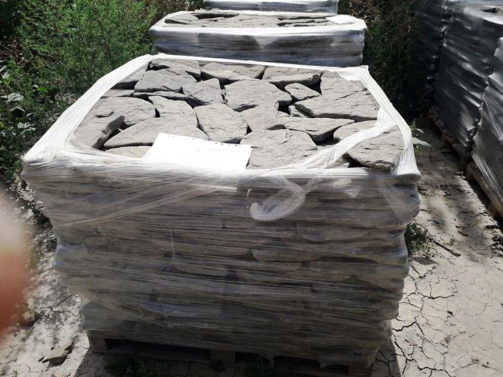 неровный песчаник галтованный