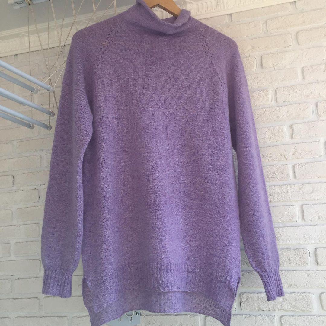 свитер из монгольского кашемира от сарлаг