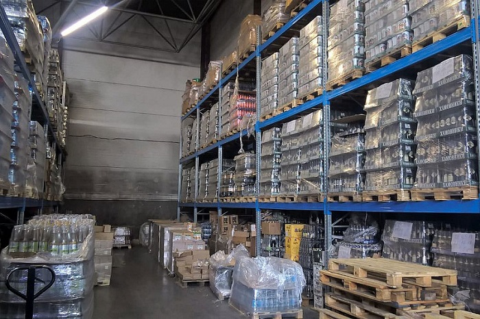 Хранение алкогольной продукции на складе