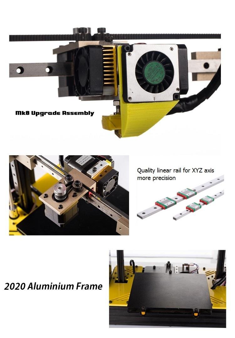 3D принтер Sunhokey Prusa i4 + 2 катушки пластика