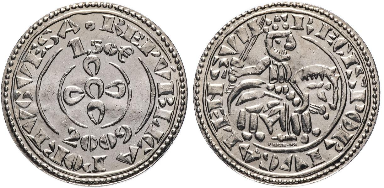 1.5 евро Морабитино Саншу II 2009