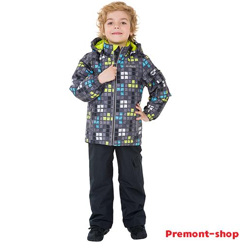 Комплект Premont Лонг-Дарк купить на весну и осень в интернет-магазине Premont-shop