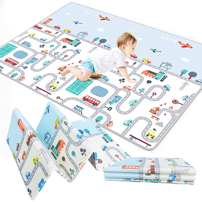 Складной детский коврик Babutka