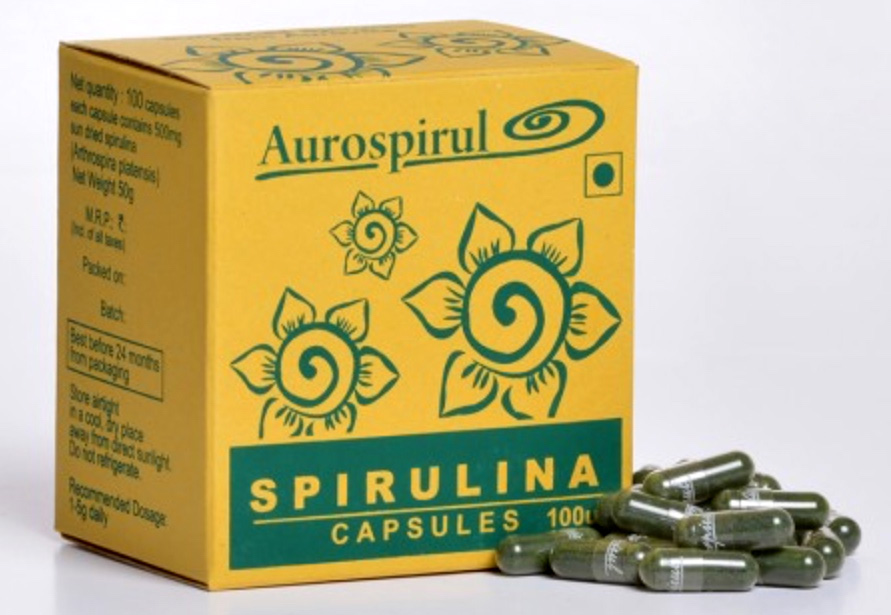 Спирулина Aurospirul в капсулах