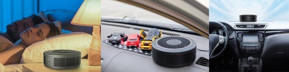 очиститель воздуха для спальни и автомобиля Ксиоми