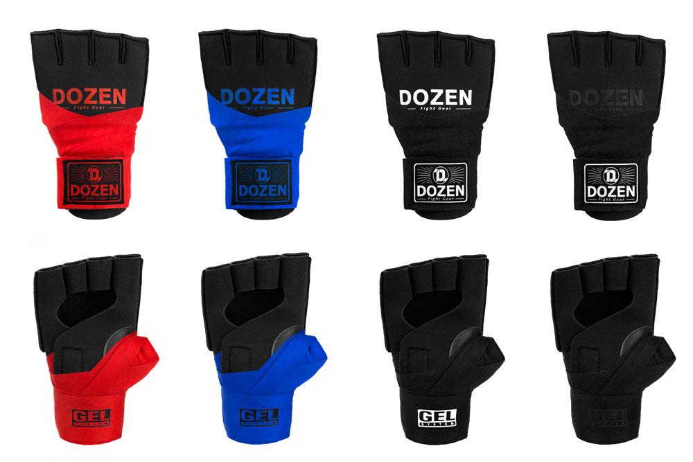 Быстрые бинты Dozen Prime Черно-черный дизайн и вешний вид