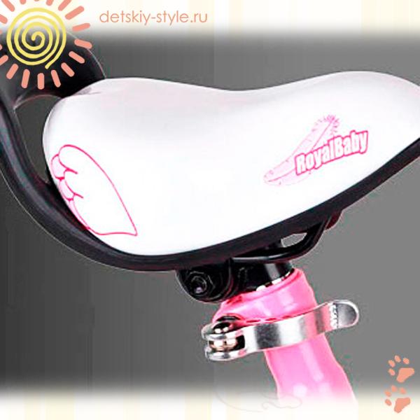 детский велосипед royal baby little swan steel 12, купить, цена, дешево, велосипед роял беби литл свон, колеса 12 дюймов, велосипед для девочек, от 2 до 4 лет, заказать, доставка по россии, отзывы, бесплатная доставка