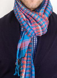 как завязывать мужские шарфы