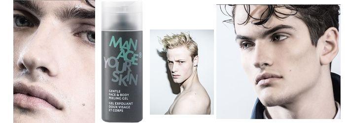 Пилинг для мужской кожи