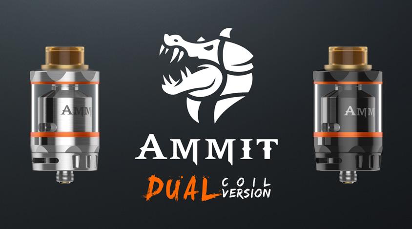 GeekVape Ammit Dual Coil RTA