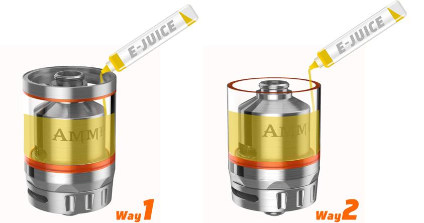 Система пополнения GeekVape Ammit Dual Coil RTA